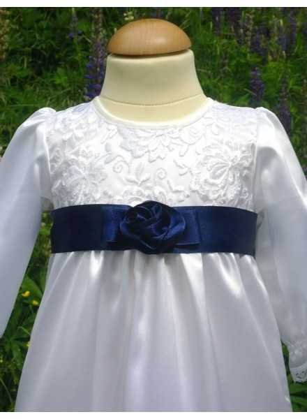 Special occasion dress in satin
