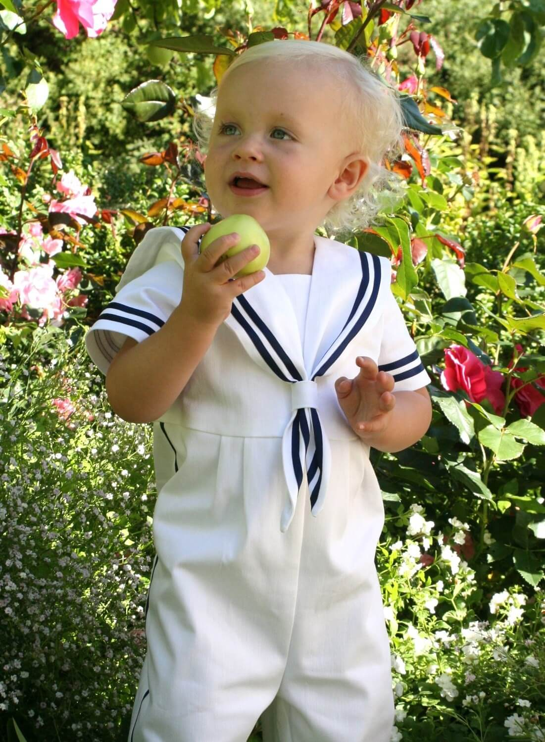 Christening gown Sailor suit