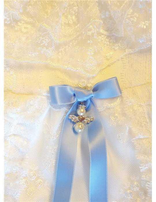 Dopklänning till flickebarn