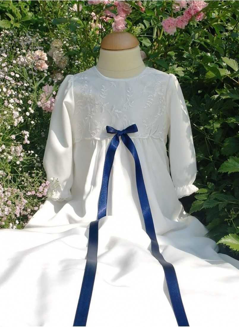 classic christening gown for boys