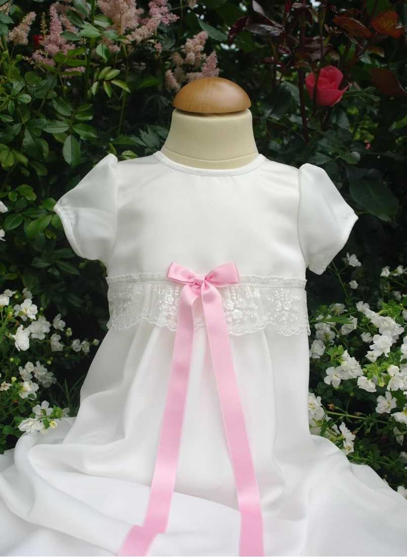 Christening Gown With Beautiful Ivory Lace Christening For Girls