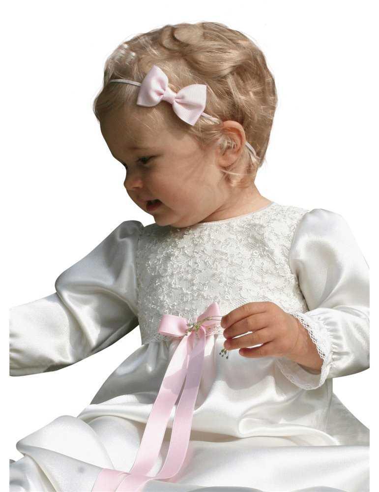 unisex Dopklänning i vitt