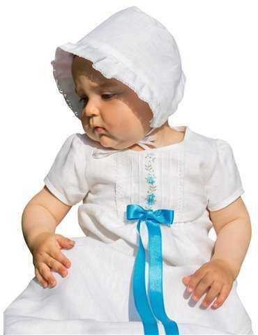 Dopklänning med lång exklusiv kjol