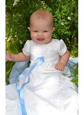 Christening Gowns Tradition White linen beautiful baptismal clothing from the grace of Sweden for boys