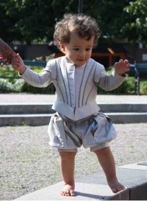 Prince Costume in silk in royal style for boys