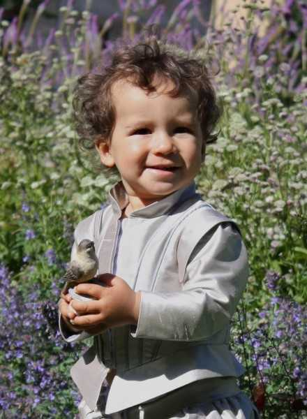 Prince Costume in pure silk exclusive baptismal clothing in royal style for boys