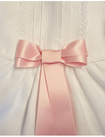 rosa fin doprosett till flicka