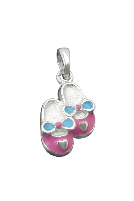 PENDANT ONE PAIR SLIPPERS SILVER 925