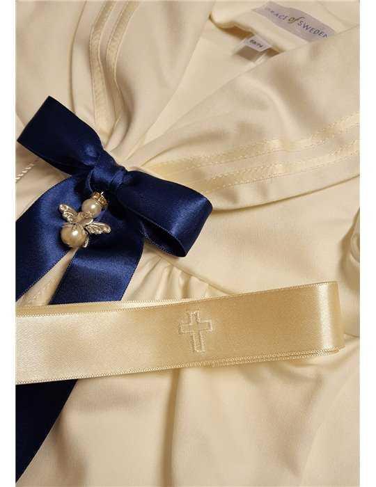 Dopklänning med doprosett i sailorlook