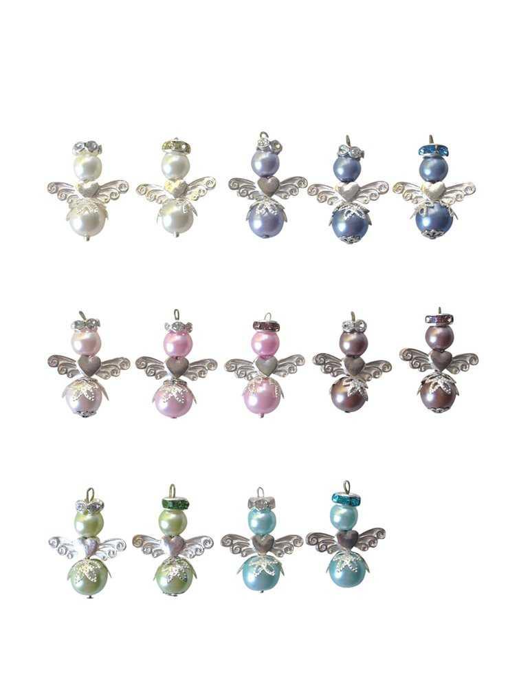 Dopklännings broderi i marinblått
