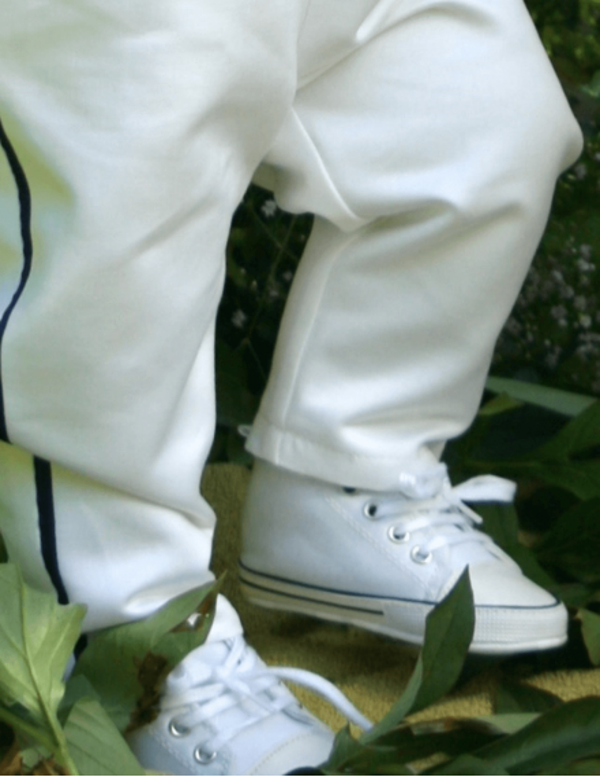 skor till baby i converse modell
