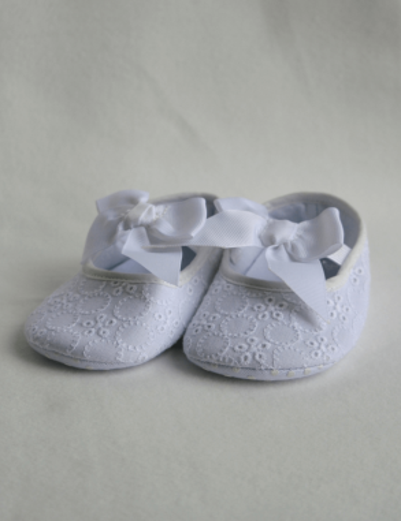32abbd22 Babyskor i hvit för dåp – GraceofSweden