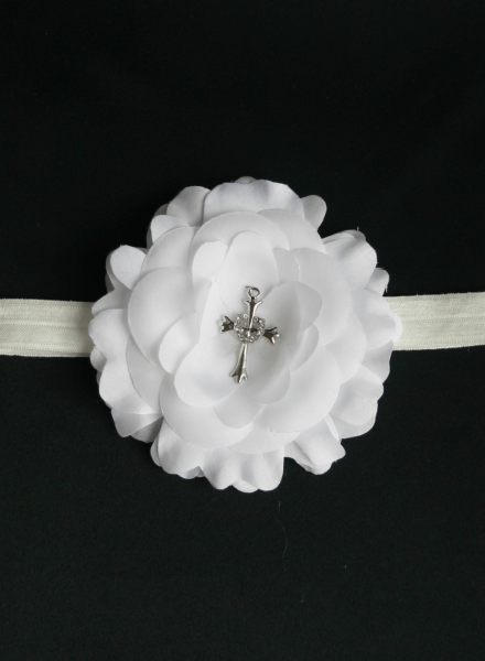 Diadem with cross for orthodox baptism