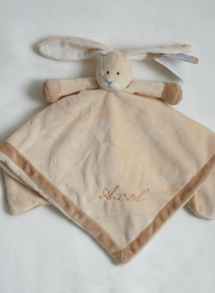Baptism gift, Lamb with embroidery