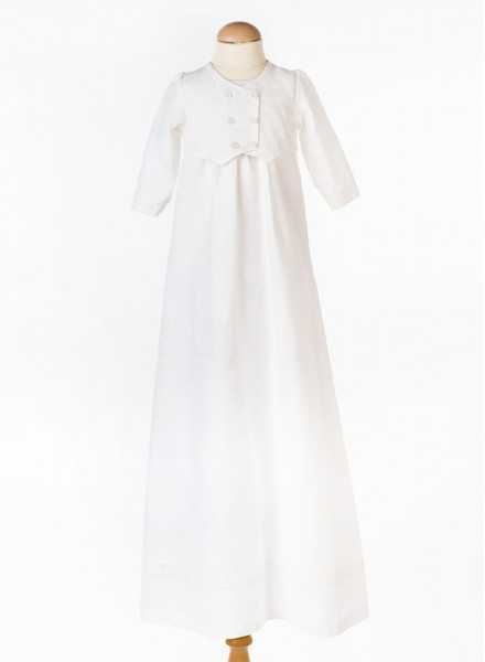 Christening gown Grace-Philip in off white