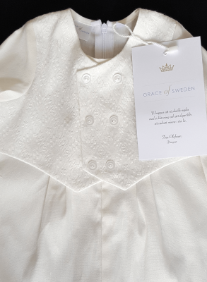 Baptismal clothing for boys in Swedish design