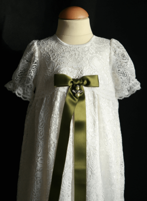 Christening gown Grace-Sara one of a Kind