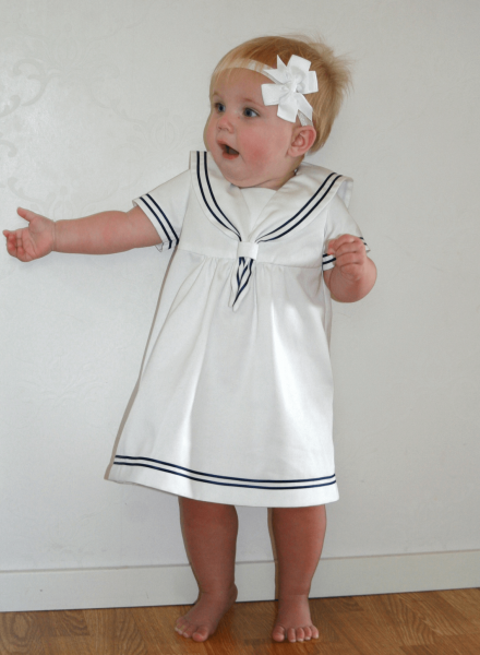 Off white sailordress
