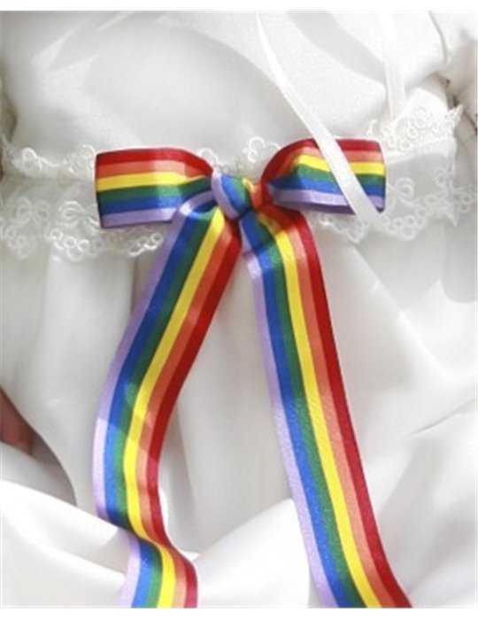 glad doptjej i blank dopklänning