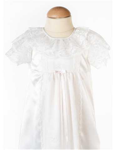 Dopklänning romantisk stil