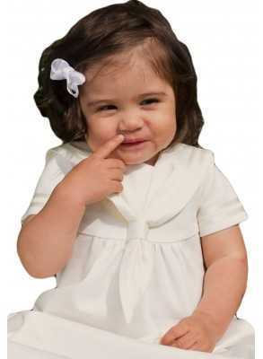 christening gown  in off white