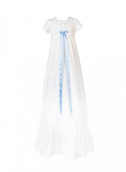 christening gown in cotton Grace-Memories