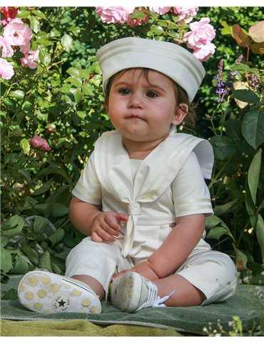 efter dopet klänning i lin