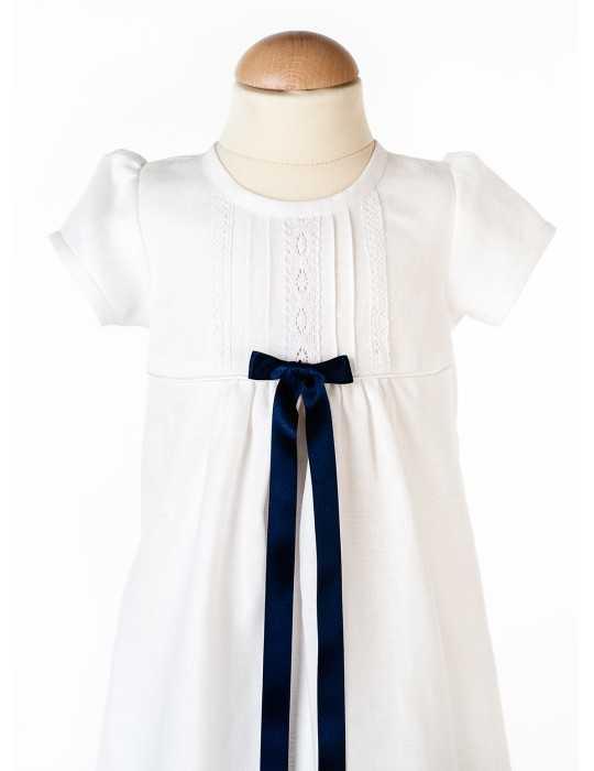 Christening gown Grace-Rose long skirt