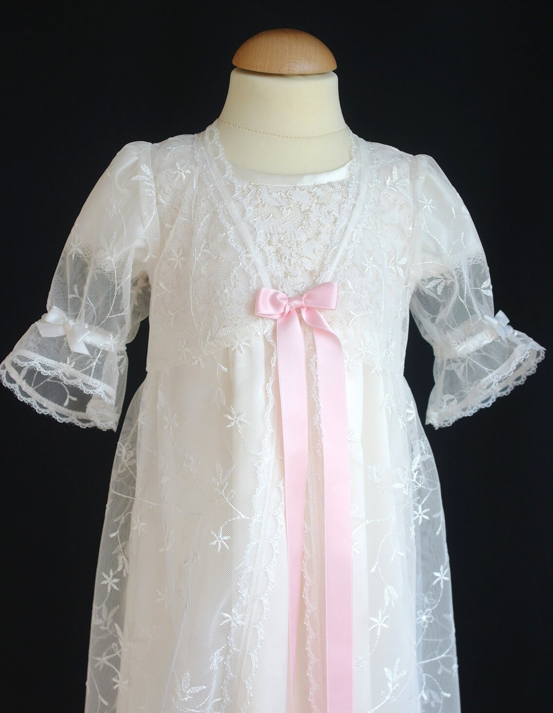 Christening gown - Lace-Over Dress