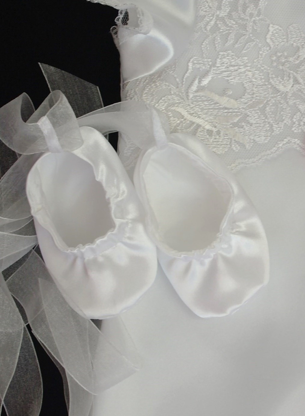 Christening balley booties