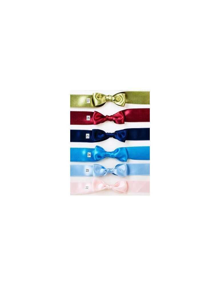 Dopklänning blå rosett