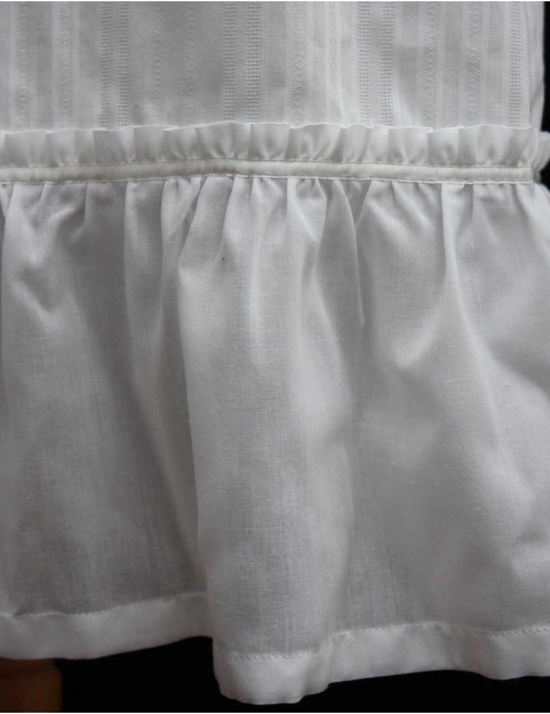 Dopklänningsdetalj
