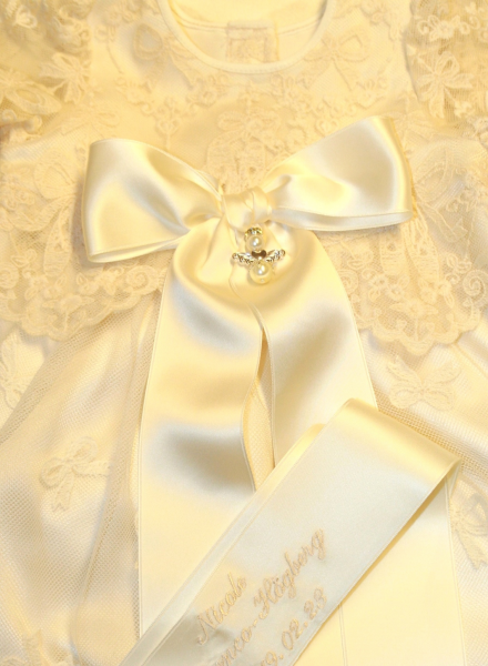 Guardian Angel to christening gown or baptism gift