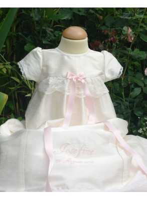 exklusive christening gown in pure silk Grace-Royal