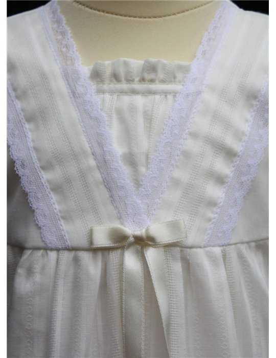 Dopklänning med exklusiv längd