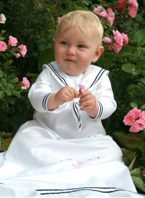 Christening gown...
