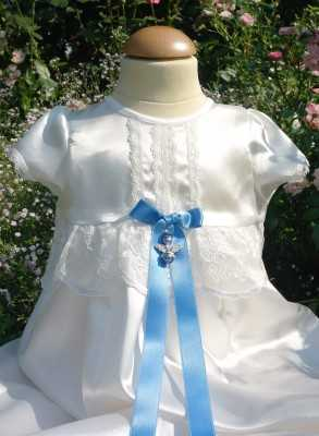 Grace-Molly beautiful off-white christening gown for boys