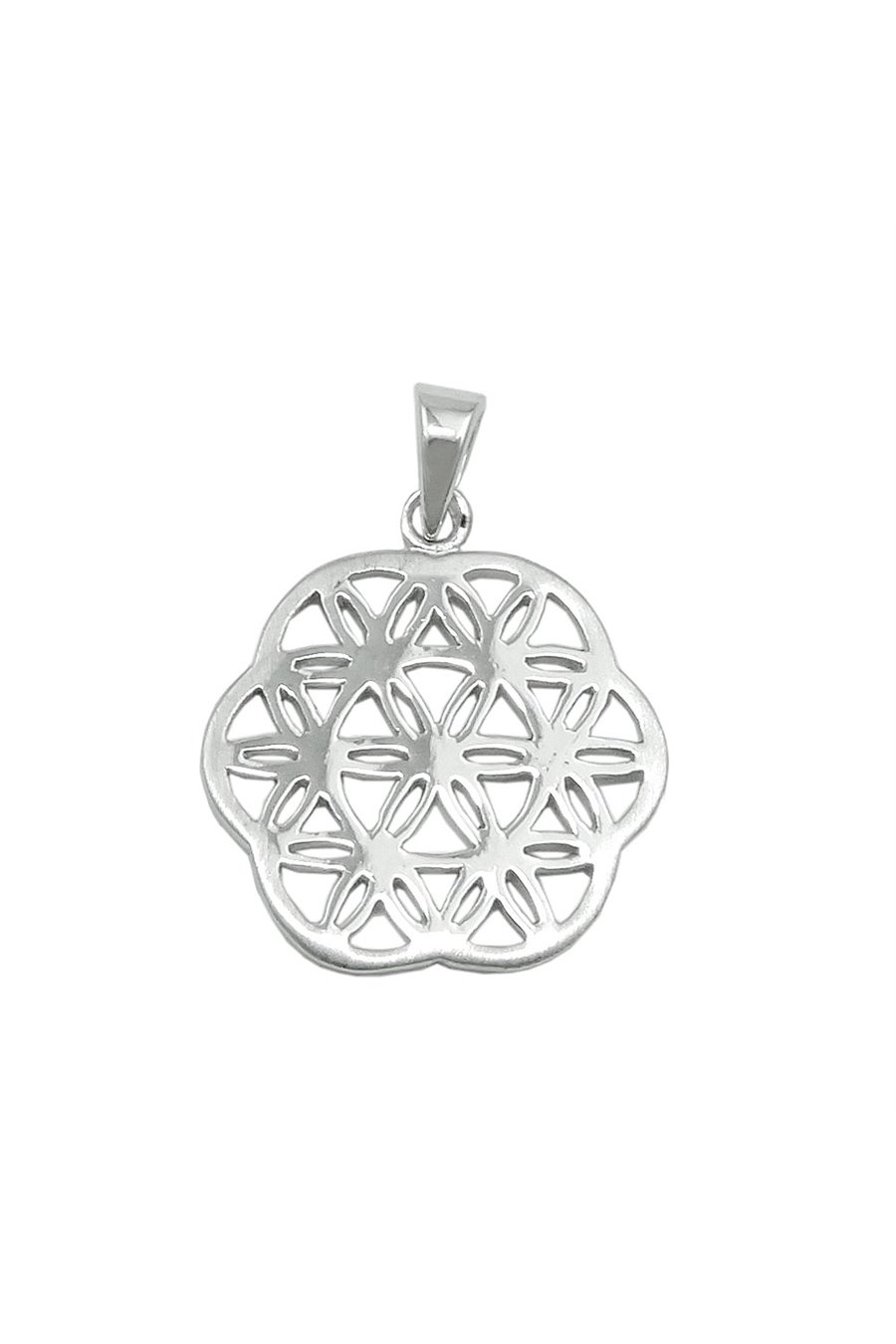 PENDANT FLOWER OF LIFE SILVER 925