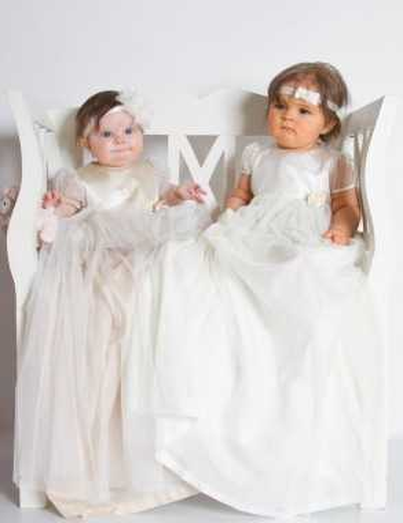 vackra Dopbarn från garce of sweden dopkollektion