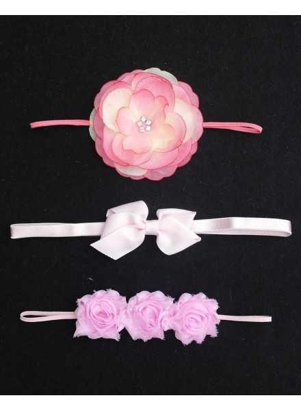 Lace Headband with Rosette or bows