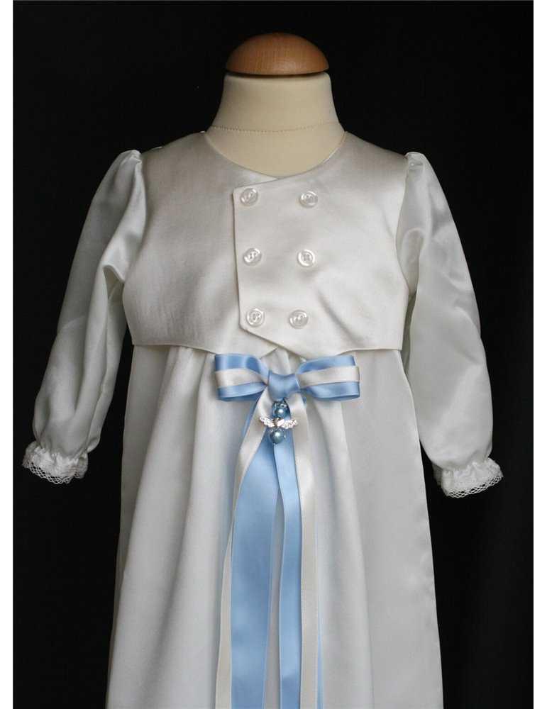 Headband with Rosette for girls baptism day