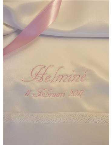 Rosettband rosa och blå toner