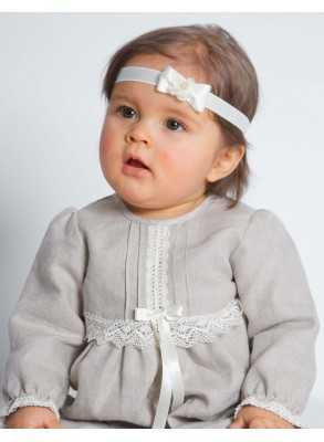 Special occasions linen with short sleeves