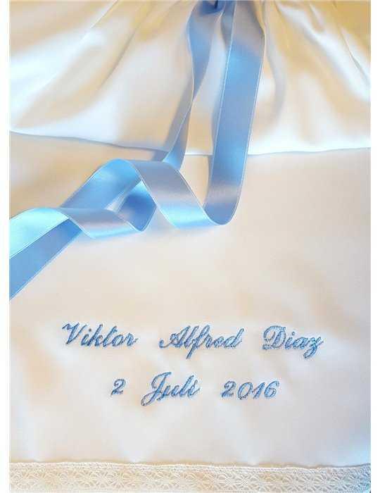 Dopklänning Sjömansklänning off white