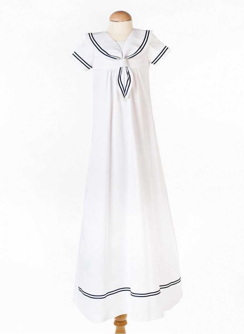 white baptism clothes in full image