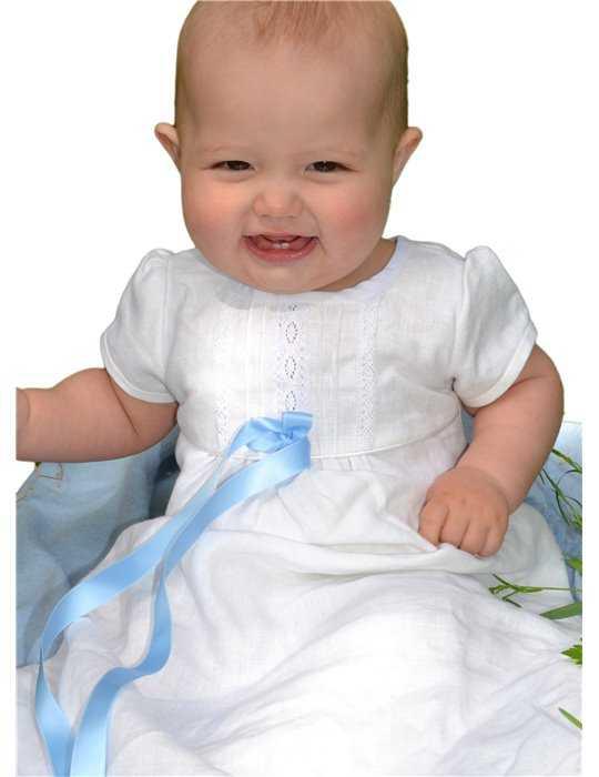 Sjömansklänning för stilg pojkes dop