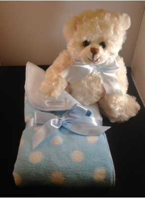 Blue Baby Blanket for Boys