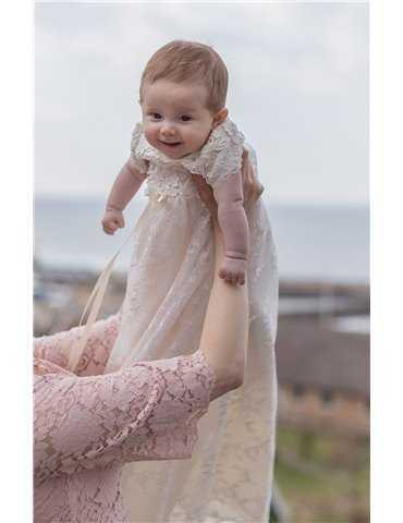 Exklusiv pälsbolero för söt baby
