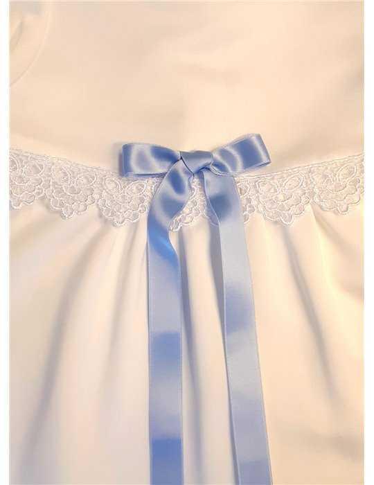 Dopklänning Grace-Rose kort ärm