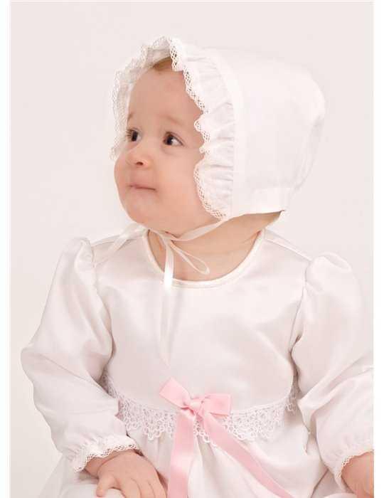 Dopklänning Grace-Rose lång ärm